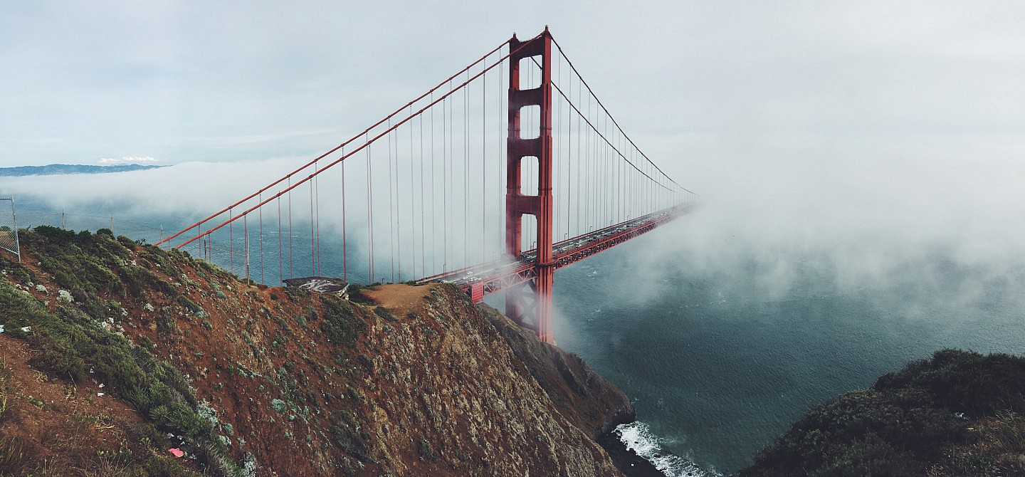 Landmark Bridge Cliff California